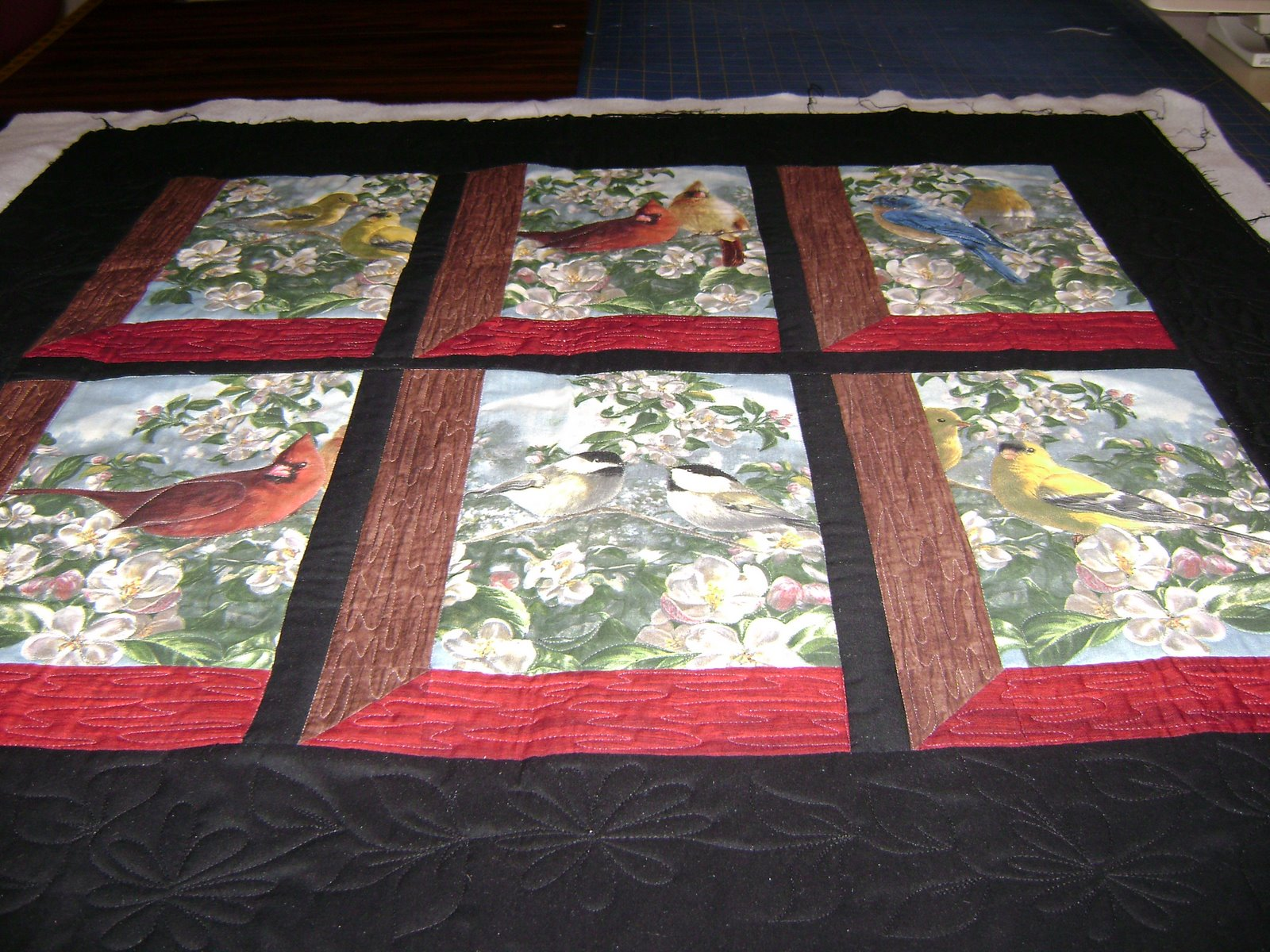 Window frame quilt | Anita's quilts and quilting : picture frame quilt - Adamdwight.com