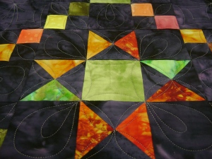 Second pieced block