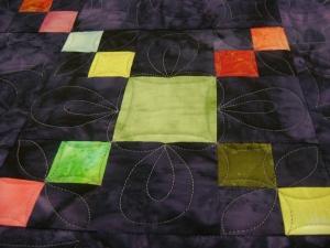 One pieced block design