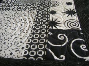 A swirl design