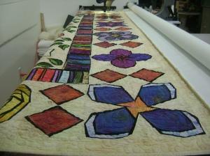 Batik quilt for repair 2013