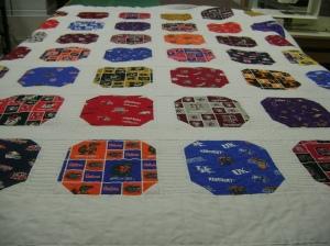 Sports quilt