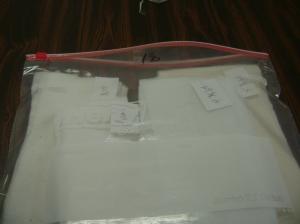 Starting a new bag of batting scraps