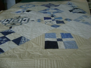Ann's blue & white quilt 002