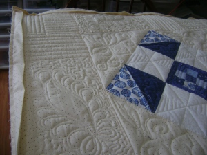 Ann's blue & white quilt 003
