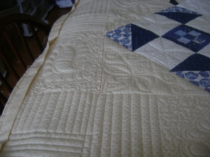 Ann's blue & white quilt 004