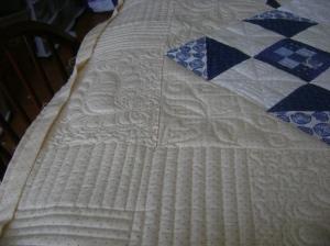 Ann's blue & white quilt 004