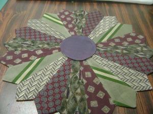 Necktie quilt tutorial 2014 031